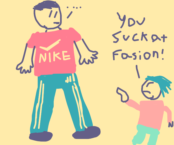 Little Girl is angry at your Fashion Choice