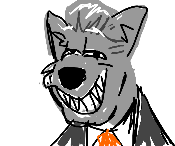 Bill Clinton as a furry