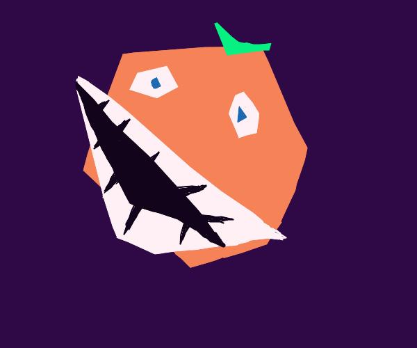 Annoying orange (modern art)