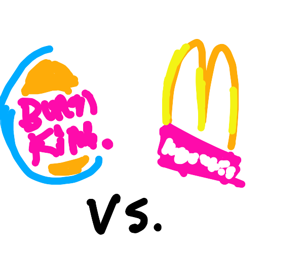McDonald's vs burgerking