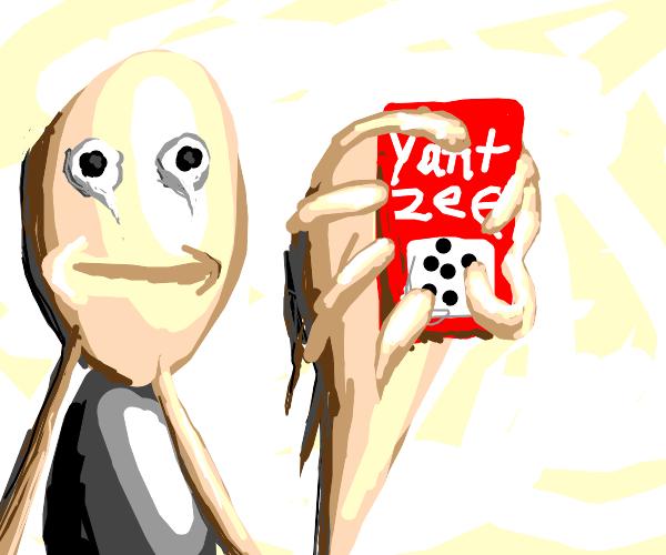 Person gets Yahtzee!