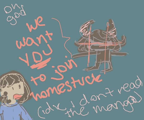 We want YOU to join homestuck