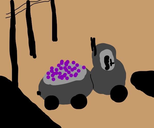 Odd shaped truck