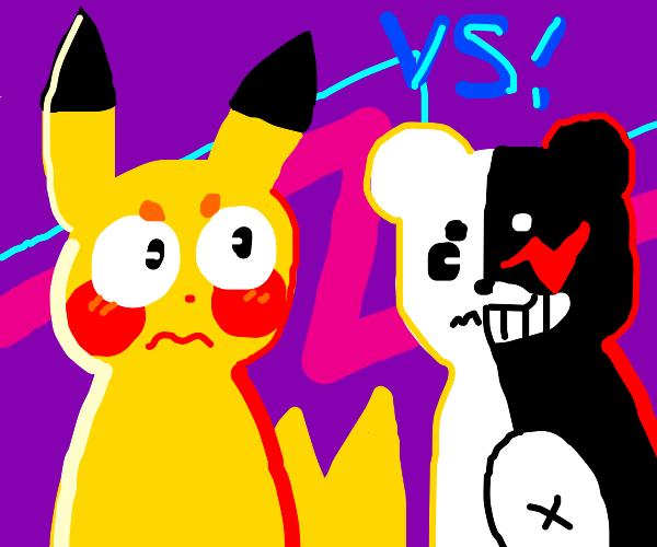 Pikachu VS Monokuma