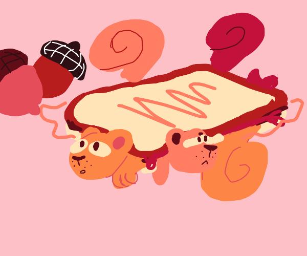 Squirrel Sandwich