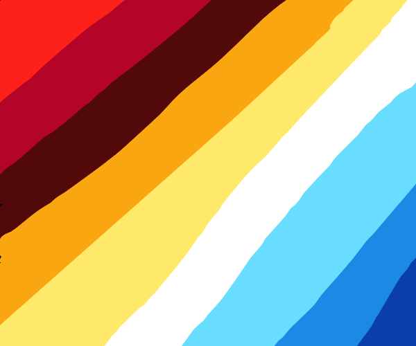 A bunch of colors
