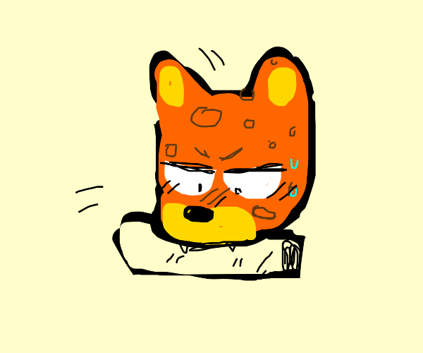 Leopard Eating A Burrito Drawception