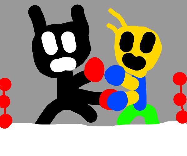 Batman boxing