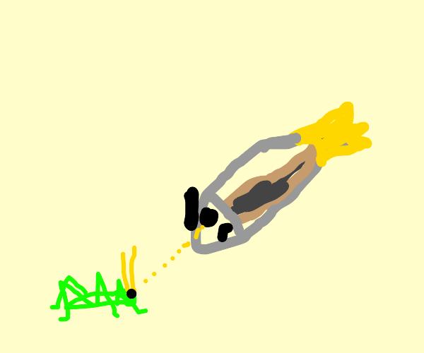 Minnow hates Grasshopper