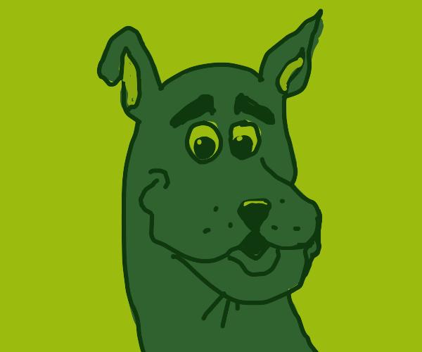 Scooby Doo's Head Statue