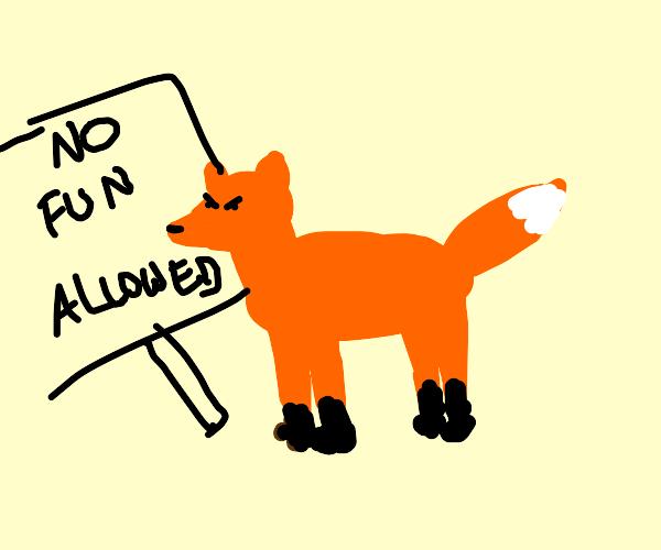 fox is against humor
