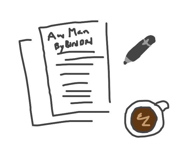 aw man, by bird died