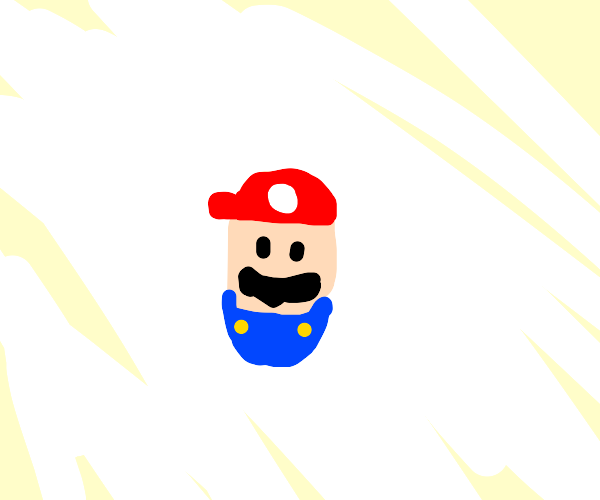 mario but he looks like a pill