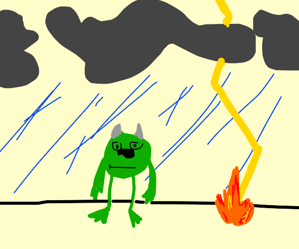 Monster in a Storm