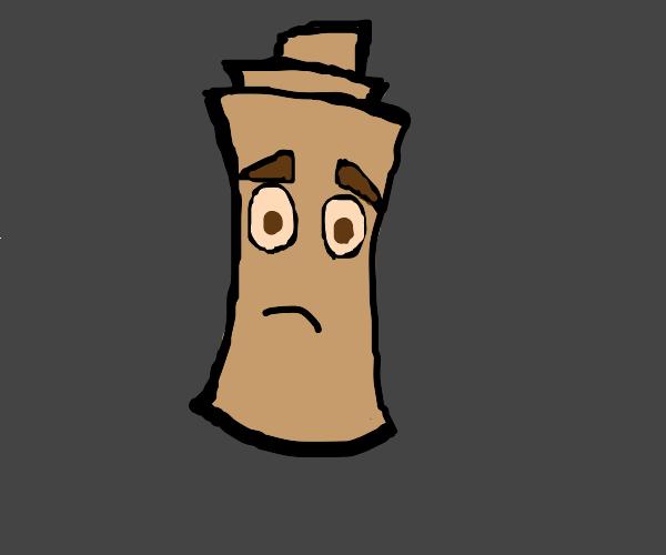 Sad Mr scroll