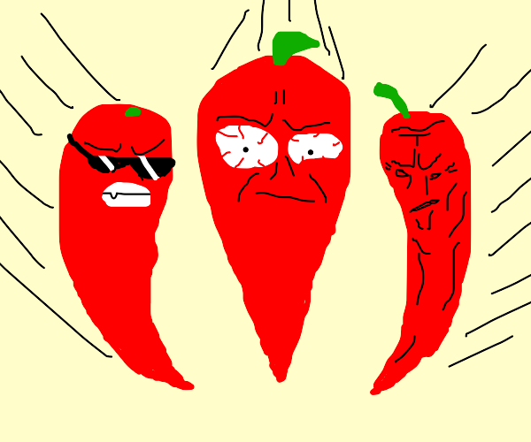 When peppers attack!