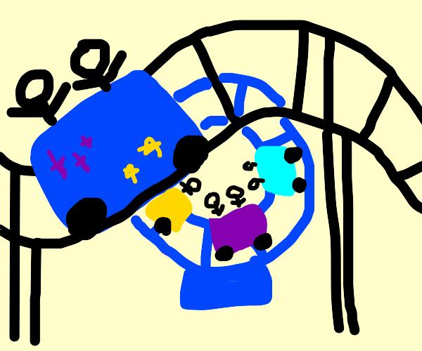 Galactic amusement park