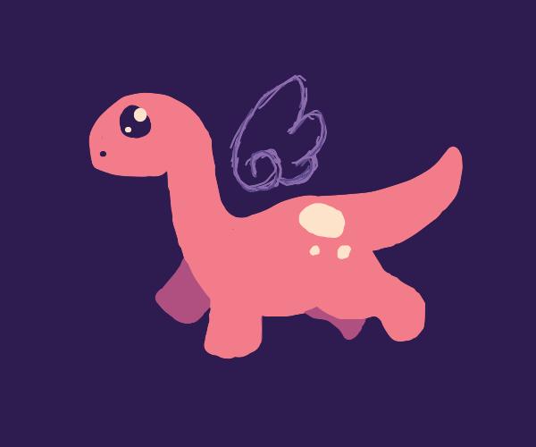 a flying dinosaur