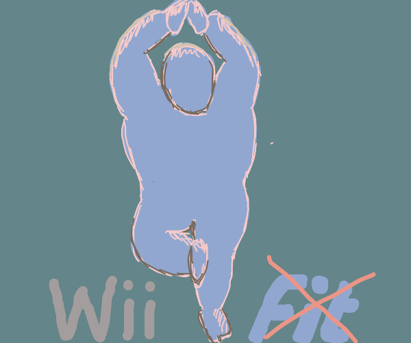 Wii fit trainer be wii thicc tho