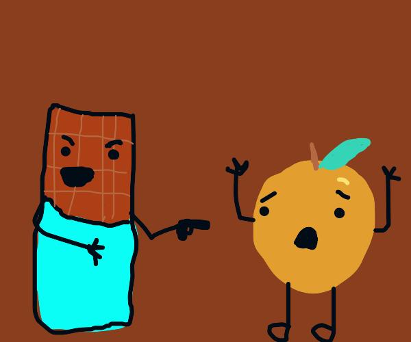 candy robs smooth orange at gunpoint