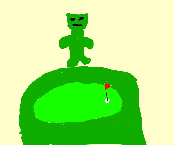 Monstrous Golf Course