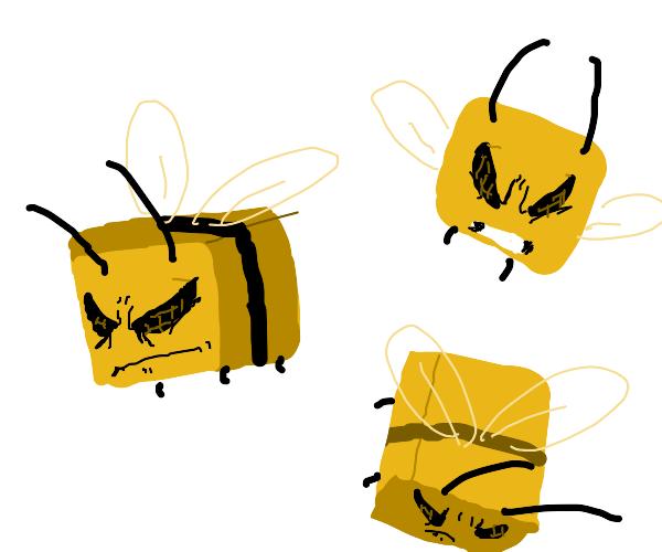 Minecraft bee!!