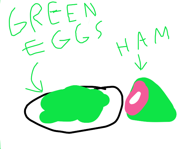 Scrambled eggs, but from an alternate univers