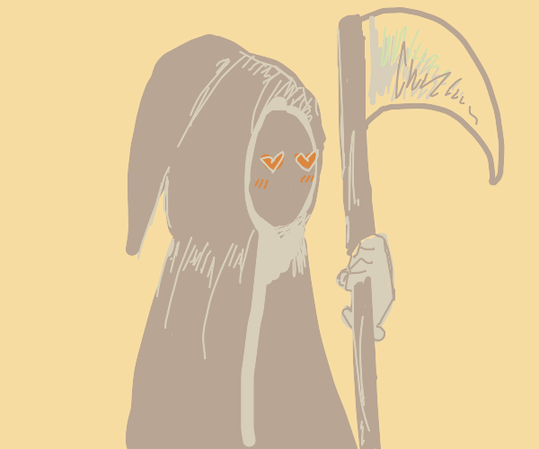 the grim reaper finds love