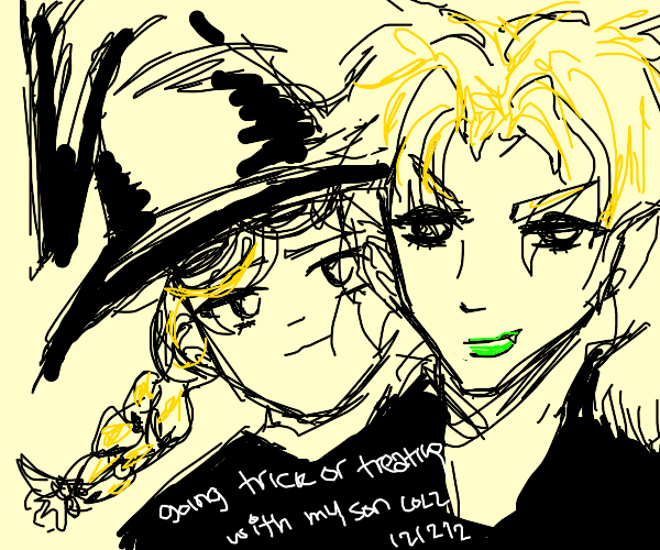 trick treating ft dio and witch
