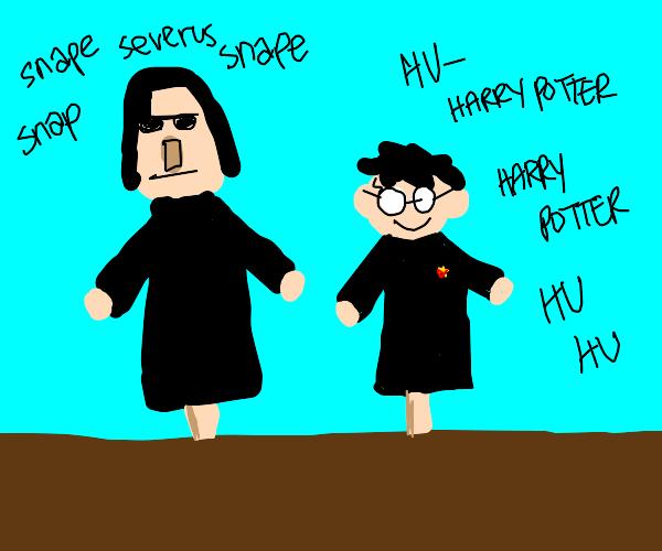 harry potter puppet show