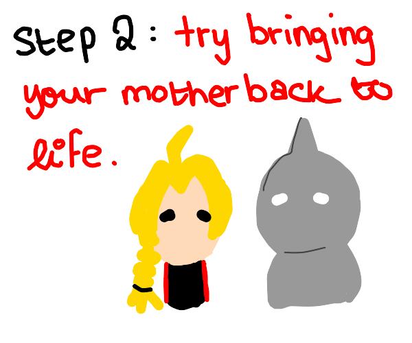 Step 1: begin learning alchemy