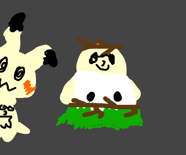 Mimikyu (Pokemon) but its Peter Griffin