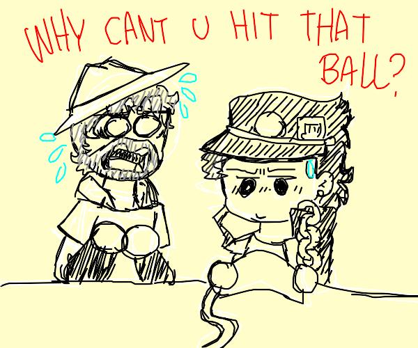 hit that ball!