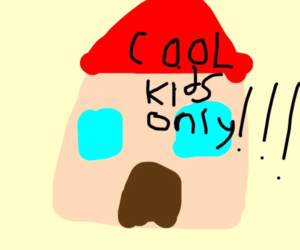 cool kid house