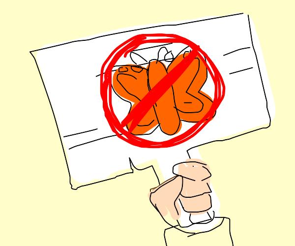 boycotting the butterflies