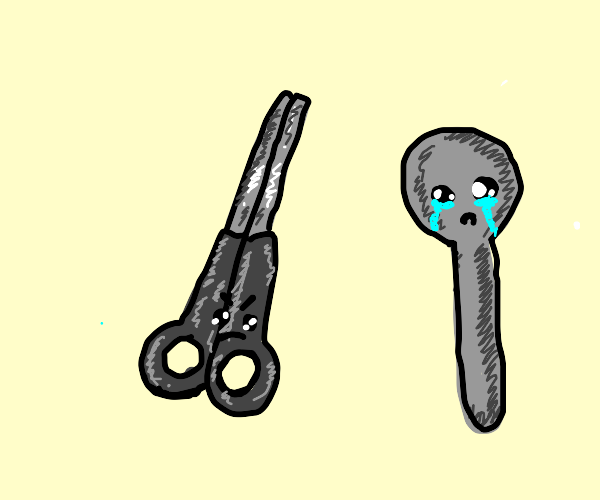 Scissors Scorn Spool