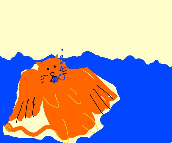 grifon drowning