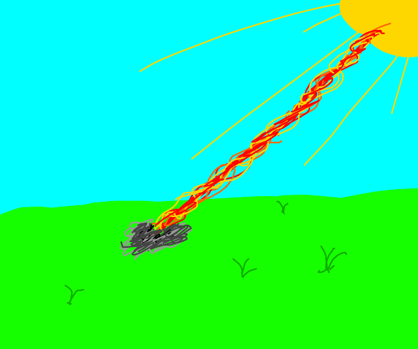The sun is a deadly laser, sans gnome