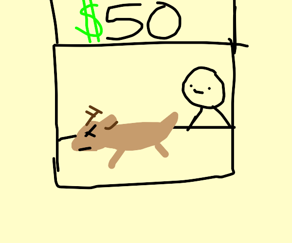 $50 for a dead deer