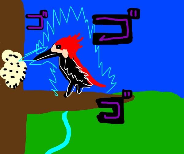 Ultra Instinct Powerful Woodpecker