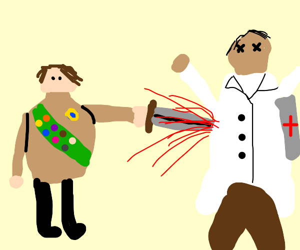 Scout kills Medic