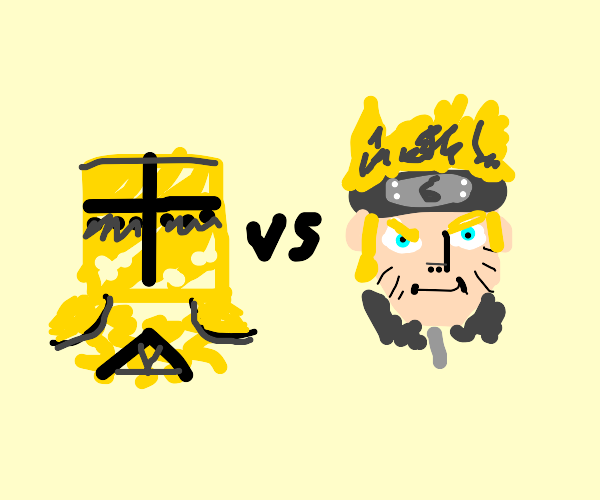 DAUBNY (from for honor) vs naruto