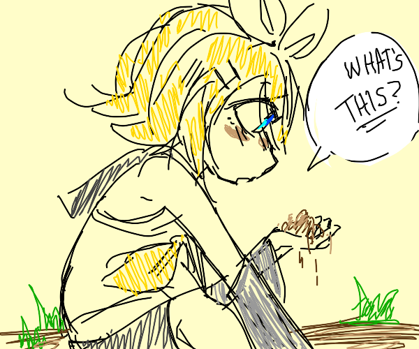 Kagamine Rin has discovered DIRT