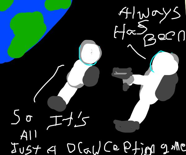 Astronaut meme
