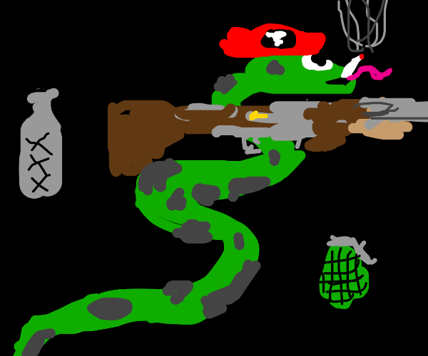 Snakes win this war