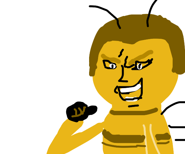 Barry from Bee movie, but he is Dio from JoJo