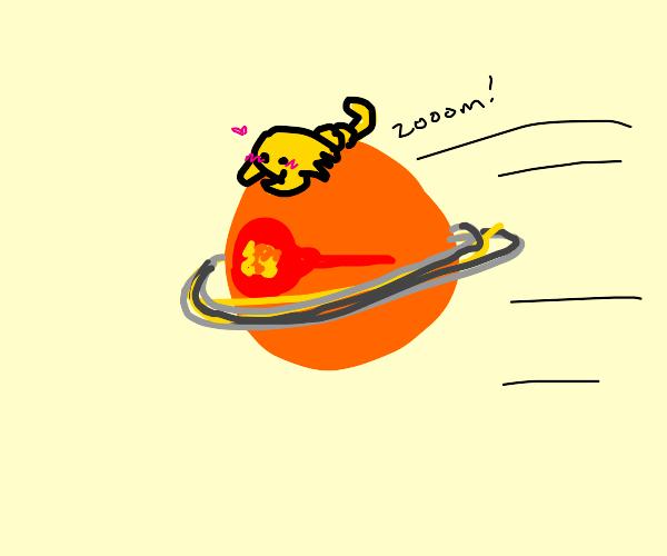 Scorpion on Saturn