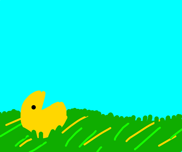 Pac-Man in the plains