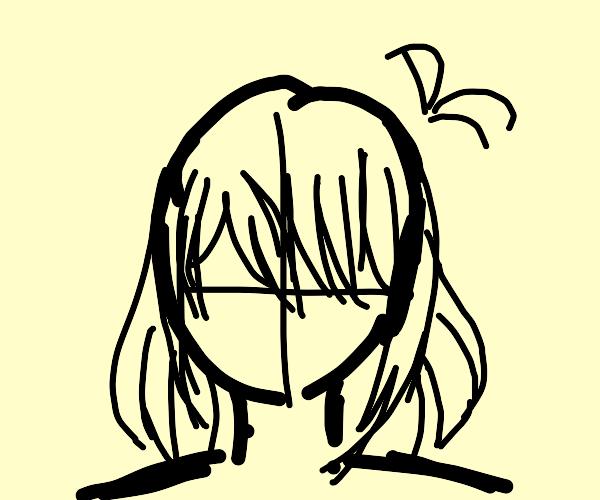 Generic Anime Girl head