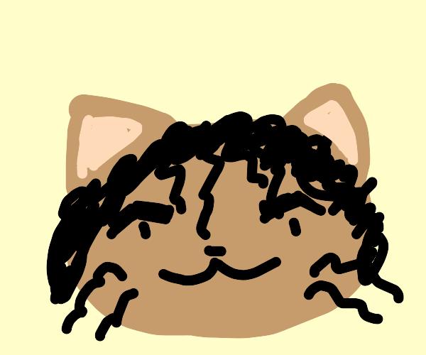 Micheal Jackson but a cat